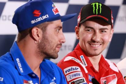 """Jorge Lorenzo stärkt Andrea Iannone den Rücken: """"Kein absichtlicher Fehler"""""""