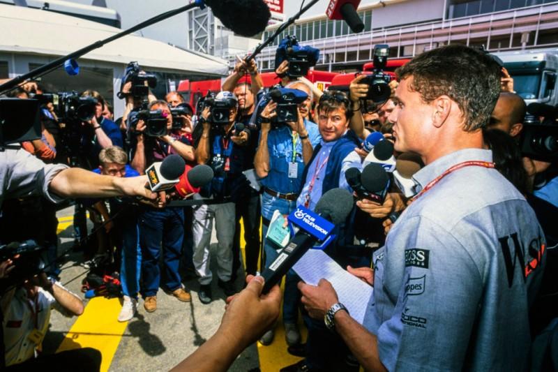 Heute vor 20 Jahren: Coulthard fährt nach Flugzeugabsturz auf Rang zwei