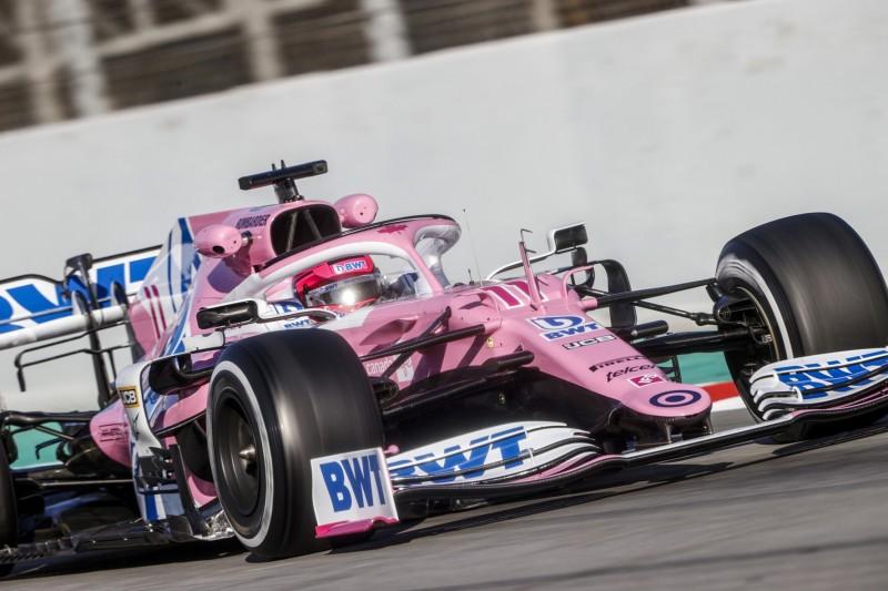 """Nur ein """"rosa Mercedes""""? Das sagt Racing-Point-Pilot Sergio Perez"""