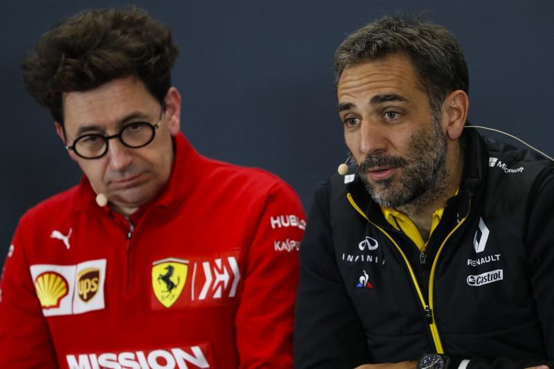 Cyril Abiteboul: Ferrari-Gate ist noch nicht abgeschlossen