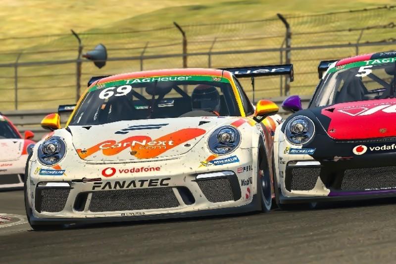 Porsche-E-Sport-Supercup: Erstes Podium für Max Verstappen