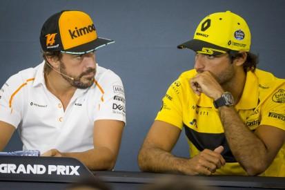 """Vor möglichem Ferrari-Wechsel: Alonso prophezeit Sainz eine """"große Zukunft"""""""