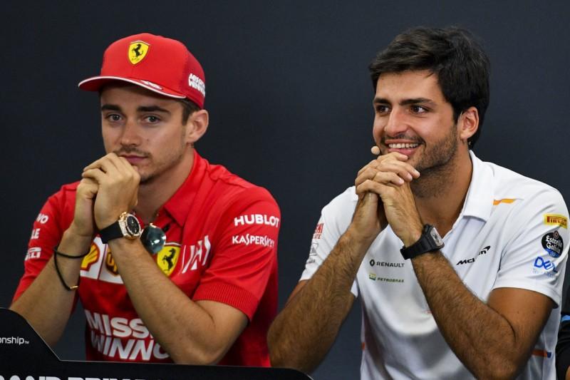 """Jüngste Paarung seit 53 Jahren: Ferrari beginnt mit Leclerc/Sainz """"neuen Zyklus"""""""