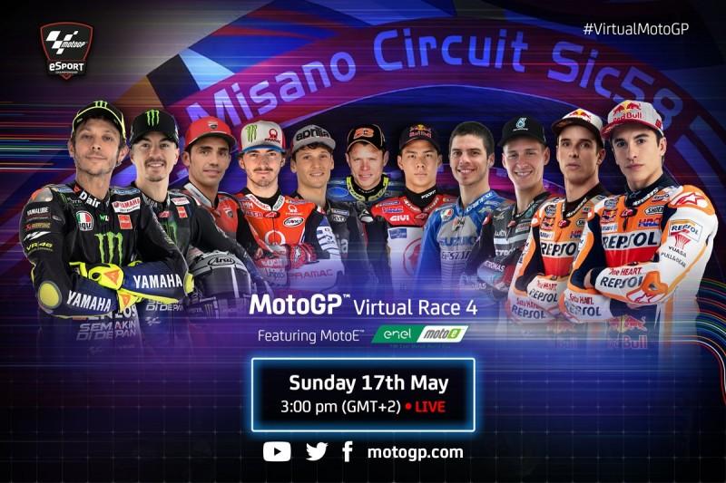 Virtueller Misano-GP: Line-up, Zeitplan, Livestream für MotoGP und MotoE