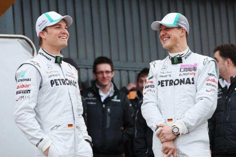 """Rosberg: Weshalb das Schumi-Comeback für ihn """"kein schöner Moment"""" war"""