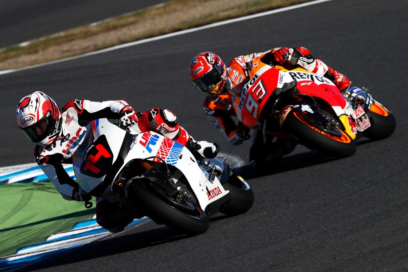 """Fernando Alonso über MotoGP-Test: """"Beinahe auf der Geraden gestürzt"""""""