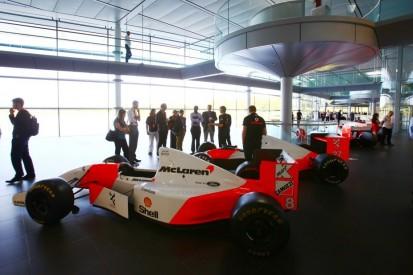 Finanzloch wegen Corona: McLaren könnte historische F1-Autos beleihen