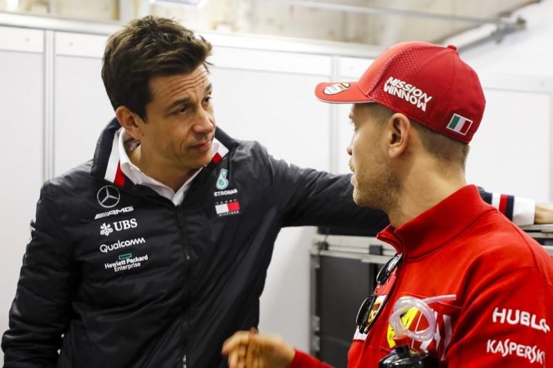 Vettel, Wolff und Aston Martin: Könnte das ein Plan B sein?