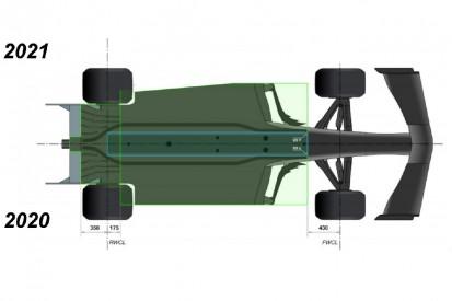 Unterboden: Diese Änderungen sollen die Formel 1 2021 langsamer machen