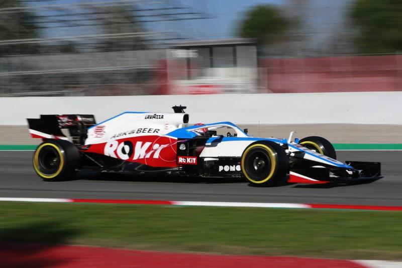 Williams: Neue Lackierung vor erstem Formel-1-Rennen 2020
