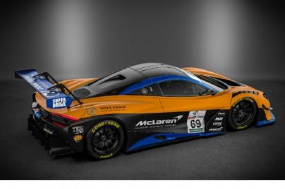 Erster McLaren 720S GT3 in Deutschland im Einsatz