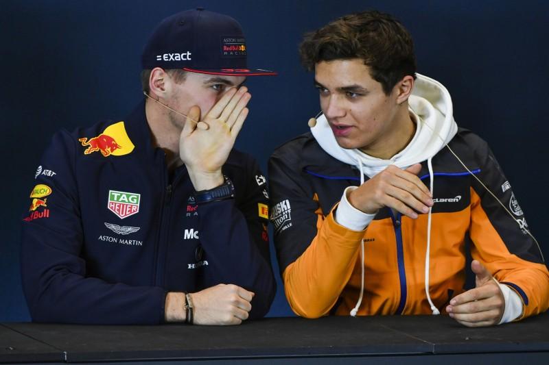 Vor Teamduell mit Ricciardo: Norris holt sich Tipps von Verstappen