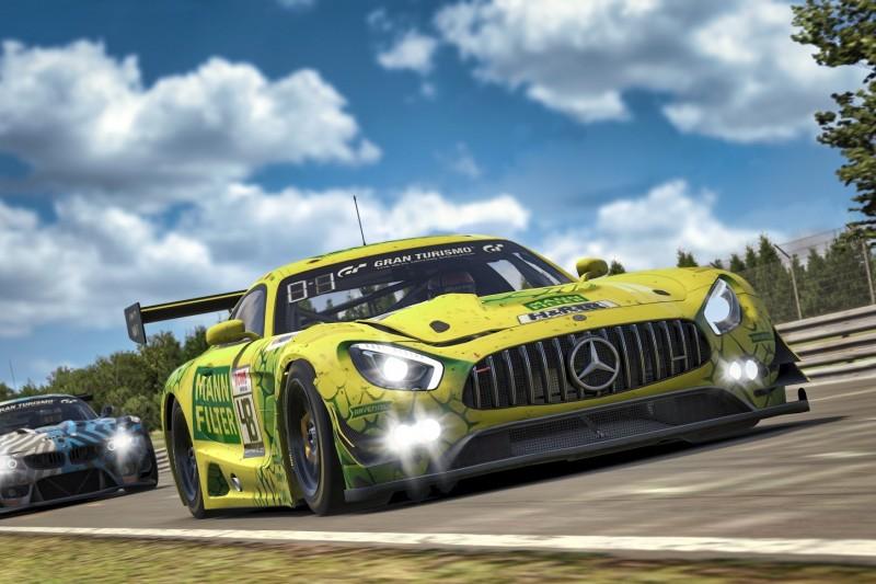 Digitale VLN: HTP-Winward holt ersten Mercedes-AMG-Sieg