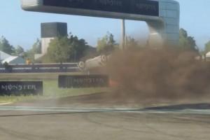 WRX E-Sport: Charles Leclerc überschlägt sich bei Rallycross-Debüt