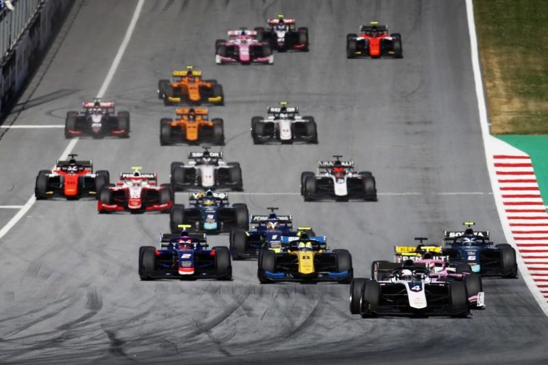 Formel 2 und Formel 3: Neuer Kalender 2020 mit acht Rennen vorgestellt