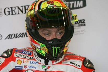 """Valentino Rossi erinnert sich: """"Habe damals oft ans Aufhören gedacht"""""""