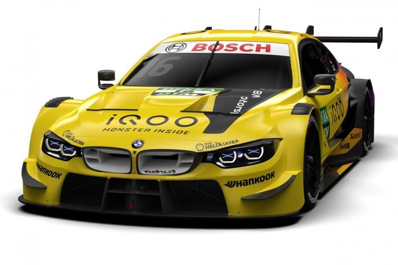 BMW zeigt Designs für DTM-Saison 2020: Glock wieder in Gelb!