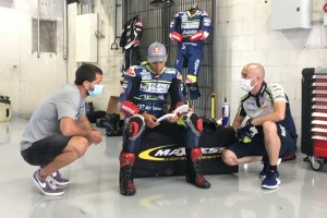 Johann Zarco trainiert auf MotoGP-Kurs in Spanien: Was er zum Miller-Deal sagt