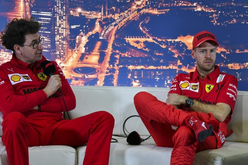 Mattia Binotto: Hoffentlich kommt Sebastian Vettel bei Mercedes unter