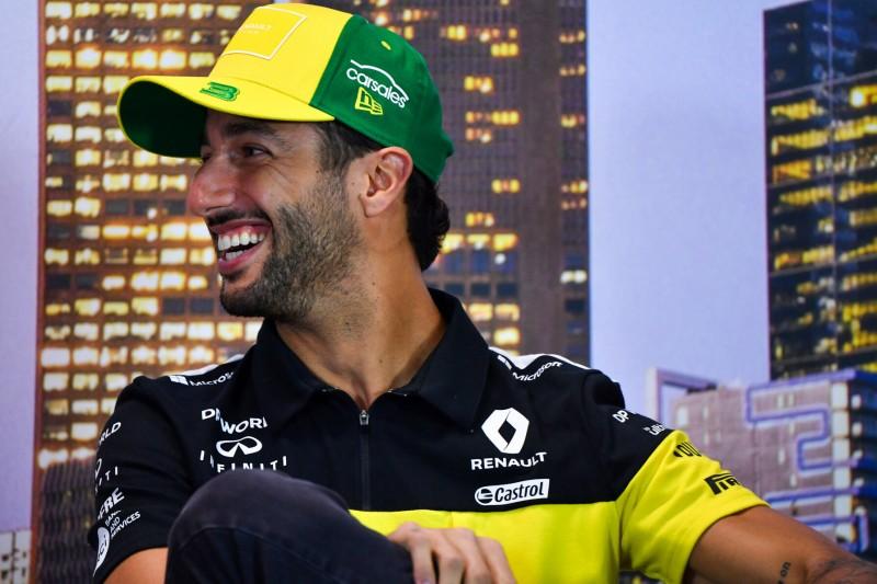 Daniel Ricciardo: Reverse-Grid-Idee nur aus Couch-Potato-Sicht gut