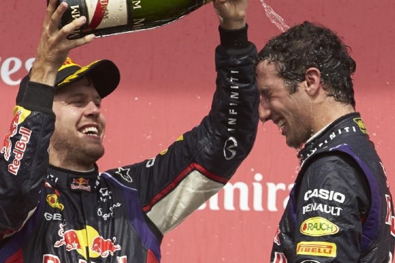 """""""Ehrlich und aufrichtig"""": Ricciardo spricht in höchsten Tönen von Vettel"""