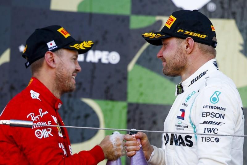 Valtteri Bottas verrät: Sebastian Vettel ist kein Thema für Mercedes