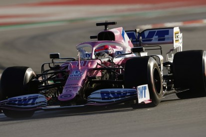 Filmtag: Racing Point fährt mit aktuellem Auto in Silverstone