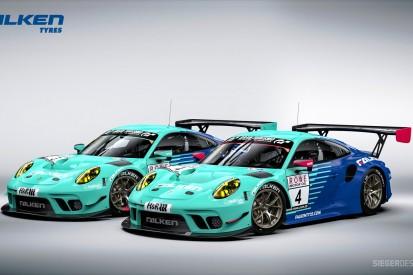 Falken zeigt Design des zweiten Porsche 911 GT3 R