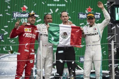 Formel 1 verzichtet auf traditionelle Podiumszeremonie