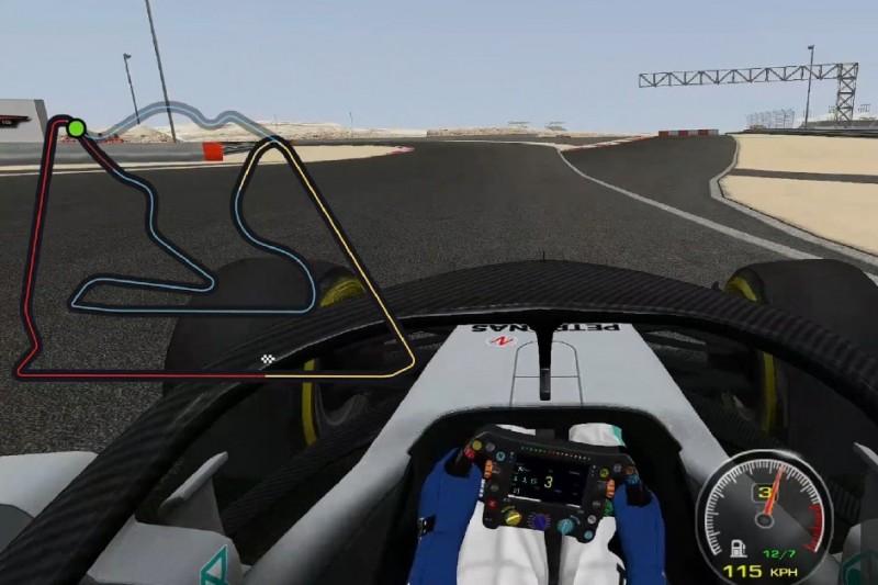 """Video: Der """"Oval""""-Kurs in Bahrain als Formel-1-Alternative?"""
