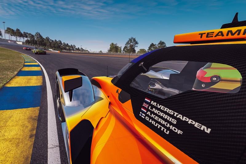 24h Le Mans virtuell: rFactor erklärt, was bei Verstappen & Alonso schiefging