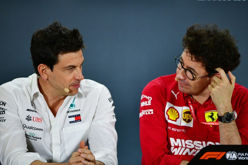Mattia Binotto: So wehrt er sich gegen Mercedes-Kommentare zu Vettel