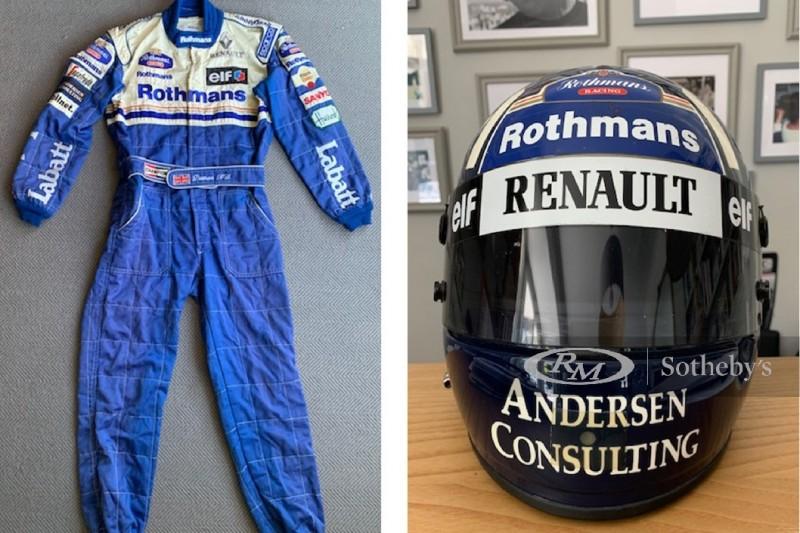 F1-Auktion für den guten Zweck: Damon-Hill-Exponate besonders begehrt