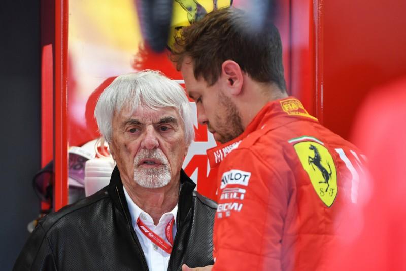 Bernie Ecclestone: Hoffentlich spielt Ferrari fair mit Sebastian Vettel