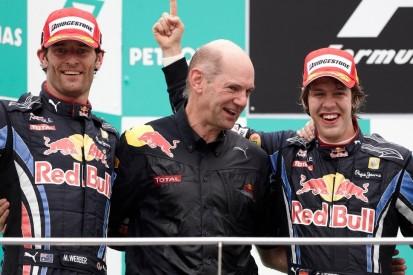 Ehemalige Red-Bull-Teamkollegen: Newey vergleicht Vettel und Webber