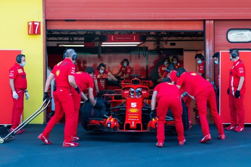 Sebastian Vettel: So lief der erste Test nach dem angekündigten Ferrari-Aus