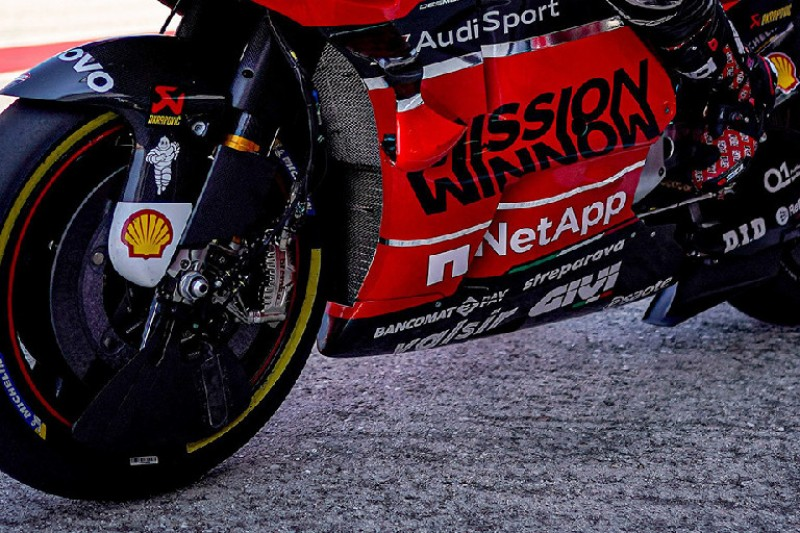 Misano-Test: Ducati mit neuem Aero-Element und neuen Bremssätteln
