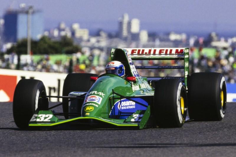 Ex-Jordan-Designer: So wild war Zanardi bei seinem Formel-1-Debüt unterwegs