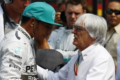 "Formel-1-Liveticker: Hamilton findet Ecclestones Aussagen ""ignorant"""