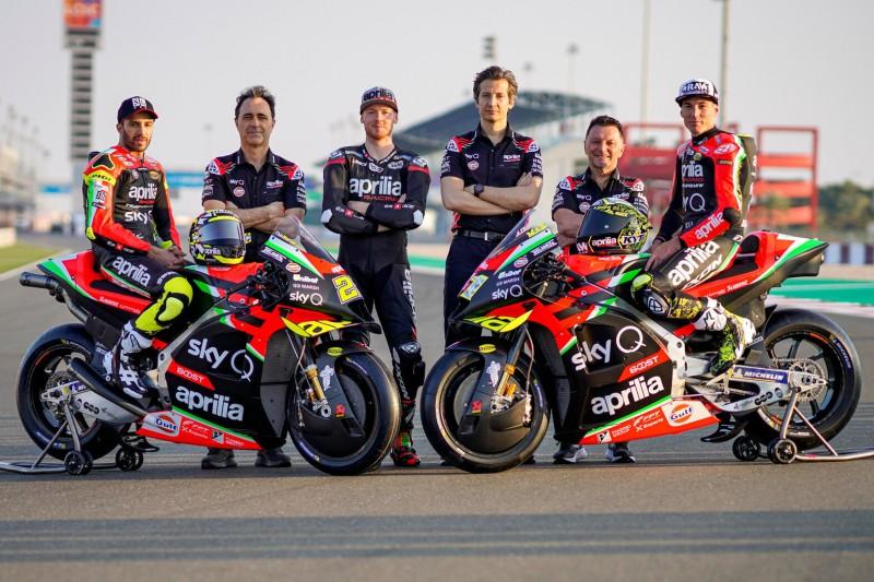 Aprilias Plan für 2022: Eigenes MotoGP-Team und zusätzliche Satelliten-Bikes