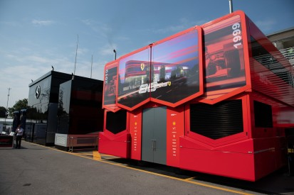 Zelte statt Motorhomes: Formel-1-Fahrerlager sieht 2020 ganz anders aus
