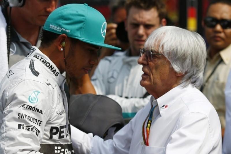 """Hamilton kritisiert Ecclestone-Aussagen: """"Jetzt ergibt es komplett Sinn ..."""""""