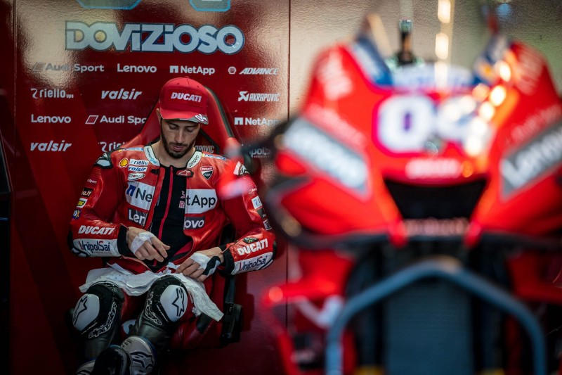 """Kein großes Vertrauen in Dovizioso"": MotoGP-Manager kritisiert Ducati-Taktik"