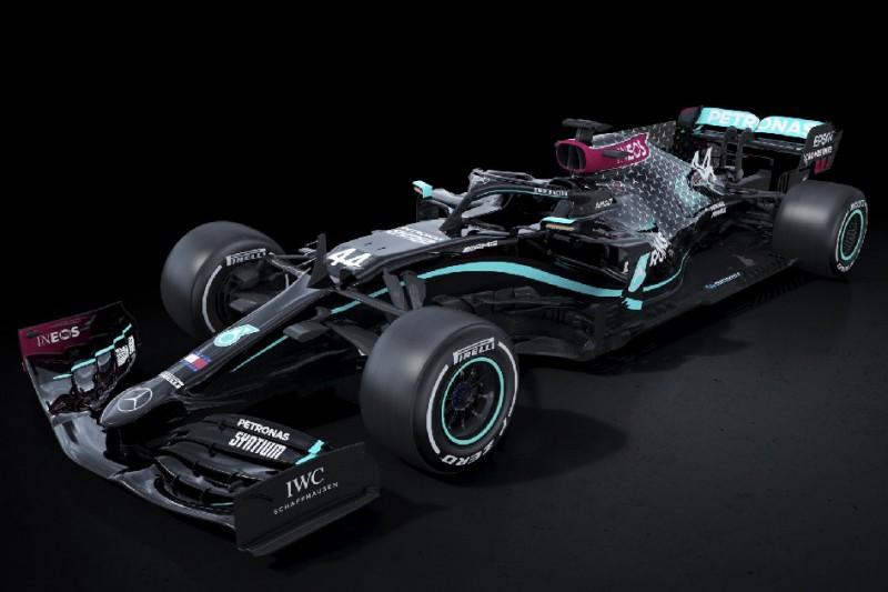 Zeichen für mehr Diversität: Mercedes in der F1 2020 mit neuer Lackierung