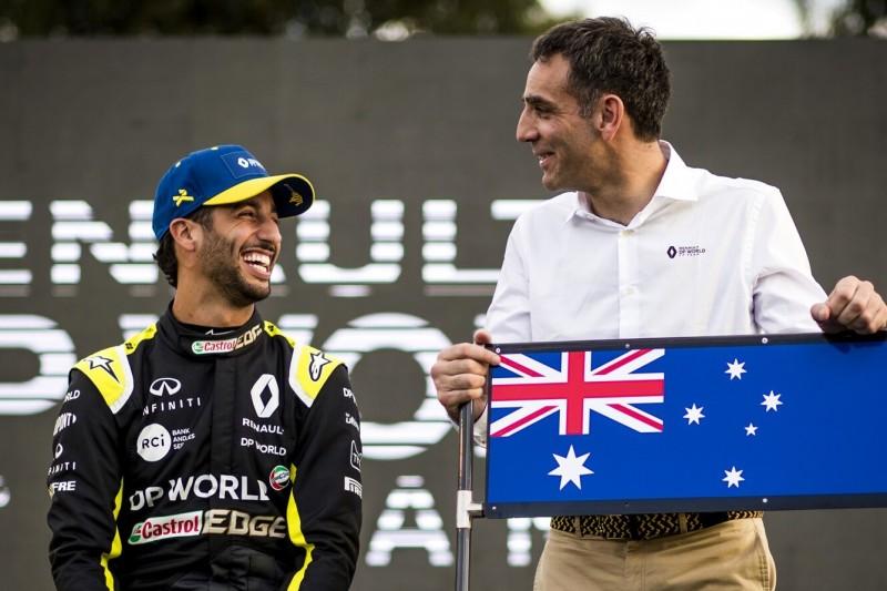 """Trotz McLaren-Wechsel: Renault will mit Ricciardo 2020 """"ganz normal arbeiten"""""""