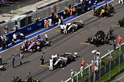 Trotz Corona: Formel 1 lässt normale Startaufstellung jetzt doch zu