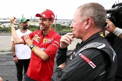 """Brundle: Absehbare Ferrari-Trennung wird Vettel 2020 """"beflügeln"""""""