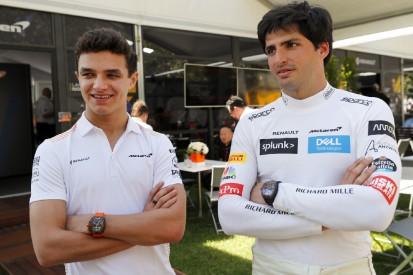 """Norris: """"Ich dachte, Carlos hat nicht das Zeug zum Ferrari-Fahrer"""""""