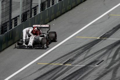Alfa Romeo: Geldstrafe für Räikkönens Reifenpanne