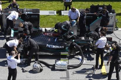 Spielberg: Mercedes hatte Probleme aus dem Rennen schon seit Freitag